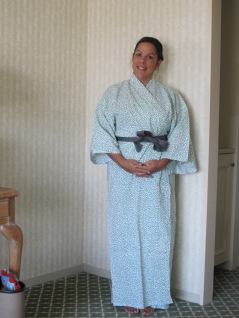 Ready for the onsen!