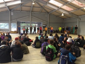 Saying thank you to our Outward Bound staff